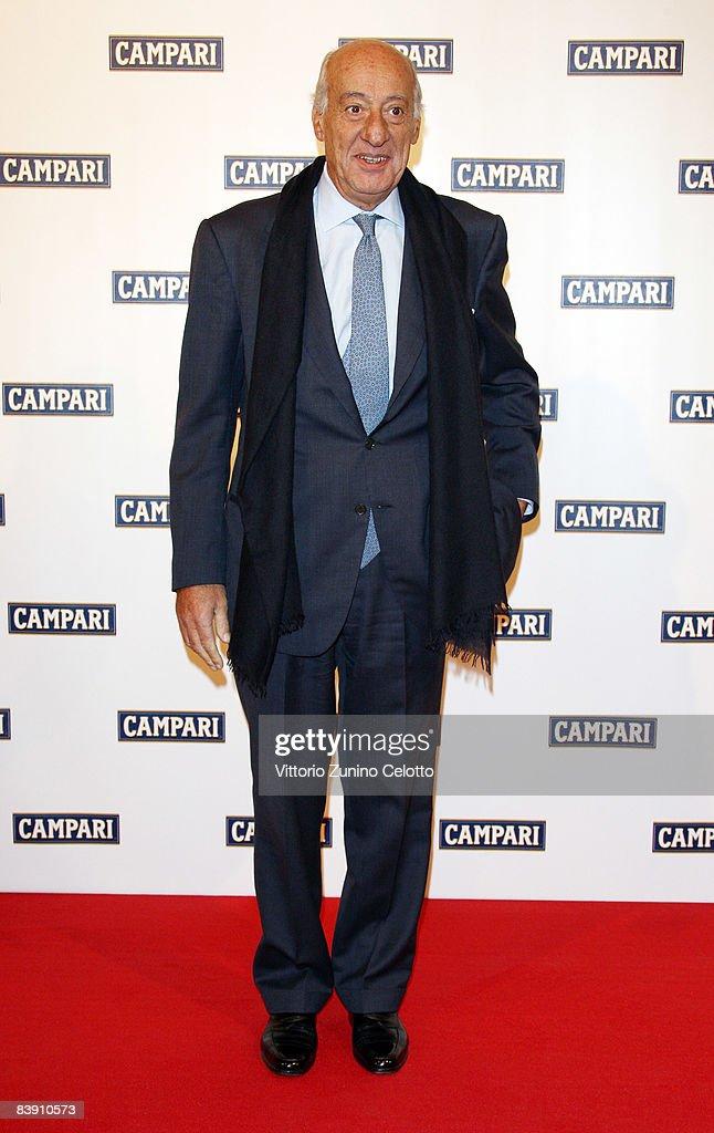 Giorgio Cefis attends the Club Campari, 2009 Campari Calendar launch at La Permanente on December 2, 2008 in Milano, Italy.