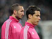 Giorgio Chiellini before the serie A match between Juventus FC and AC Milan at the juventus stadium on november 21 2015 in torino italy