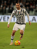 Giorgio Chiellini during the serie A match between Juventus FC and AC Milan at the juventus stadium on november 21 2015 in torino italy