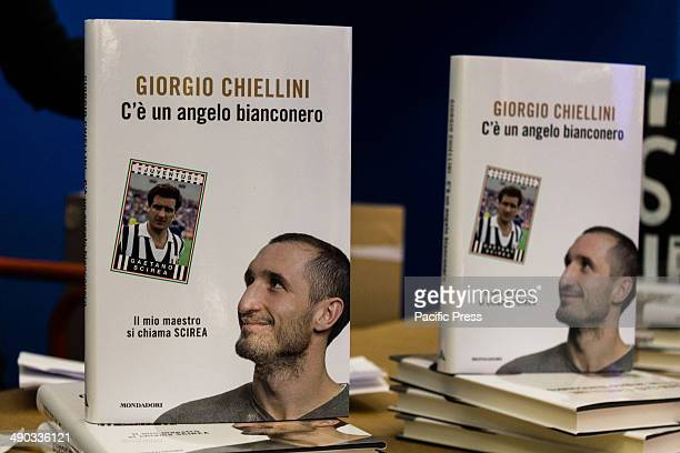 Giorgio Chiellini Italian footballer who currently plays for Serie A club Juventus and the Italian national team during the presentation of the book...