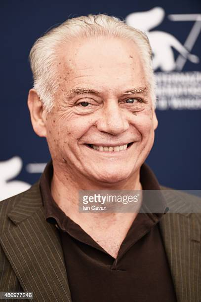 Giorgio Colangeli attends a photocall for 'The Wait' during the 72nd Venice Film Festival at Palazzo del Casino on September 5 2015 in Venice Italy