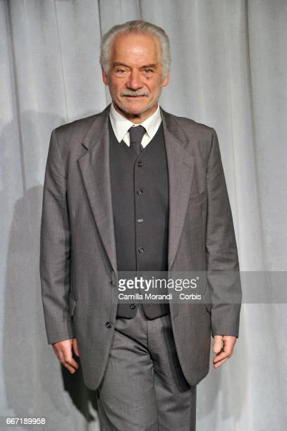Giorgio Colangeli attends a photocall for 'Tutto Puo' Succedere' on April 11 2017 in Rome Italy