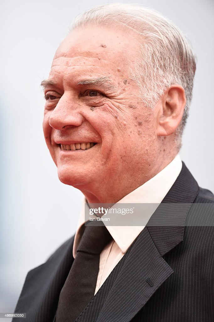 Giorgio Colangeli attends a premiere for 'The Wait' during the 72nd Venice Film Festival on September 5, 2015 in Venice, Italy.
