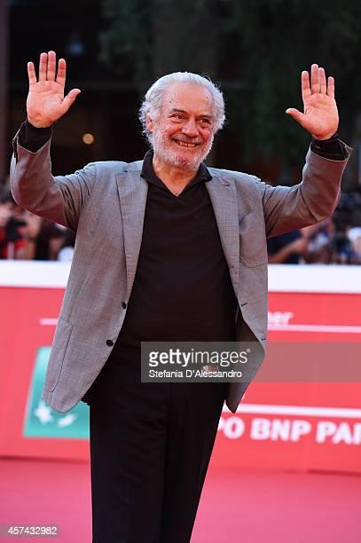 Giorgio Colangeli attends the 'A Tutto Tondo' Red Carpet during the 9th Rome Film Festival on October 18 2014 in Rome Italy