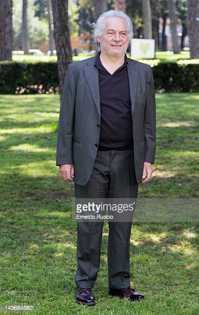 Giorgio Colangeli attends the 'Isole' photocall at Casa del Cinema on May 2 2012 in Rome Italy