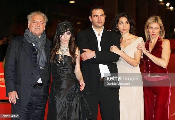 Giorgio Colangeli Sabrina Impacciatore Herbert Paragnani Donatella Finocchiaro and Livia Bonifazi attends the 'Serate Fox' premiere during Day 3 of...
