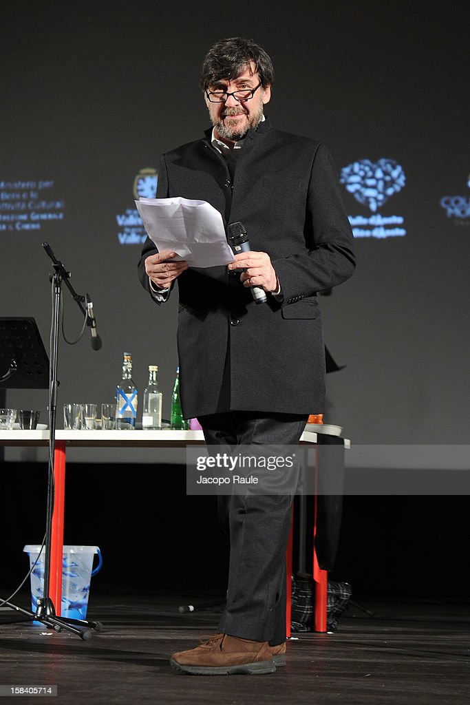 Giorgio Gosetti attends the 22th Courmayeur Noir In Festival on December 15, 2012 in Courmayeur, Italy.