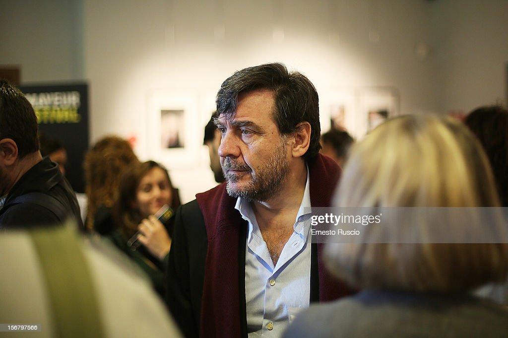 Giorgio Gosetti attends the 'XXII Courmayeur Noir in Festival' press conference at Casa del Cinema on November 21, 2012 in Rome, Italy.