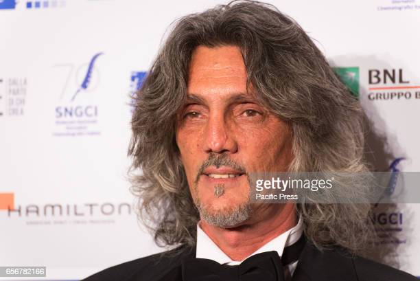 Giorgio Gregorini attends the photocall for 'Nastri d'Argento Serata 70 da Oscar'