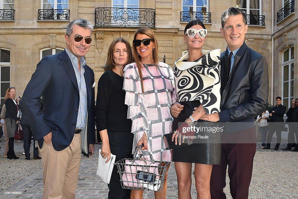 Viktor & Rolf : Outside Arrivals - Paris Fashion Week Womenswear Spring/Summer 2015