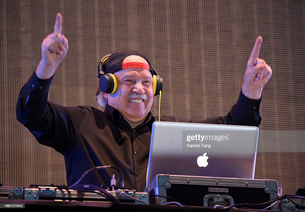 Giorgio Moroder performs at the BBC Radio 2 Live In Hyde Park Concert at Hyde Park on September 13, 2015 in London, England.