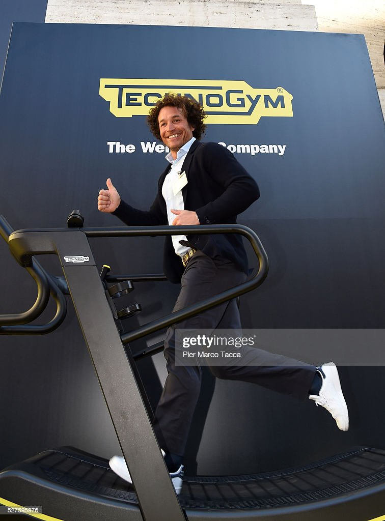<a gi-track='captionPersonalityLinkClicked' href=/galleries/search?phrase=Giorgio+Rocca&family=editorial&specificpeople=214781 ng-click='$event.stopPropagation()'>Giorgio Rocca</a> attends the Technogym Listing Ceremony at Palazzo Mezzanotte on May 3, 2016 in Milan, Italy. Technogym is the world leader in the construction of equipment for gyms, founded in 1983 by Nerio Alessandri, and was listed today on the Milan Stock Exchange.