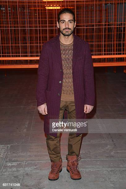 Giotto Calendoli attends the Missoni show during Milan Men's Fashion Week Fall/Winter 2017/18 on January 15 2017 in Milan Italy