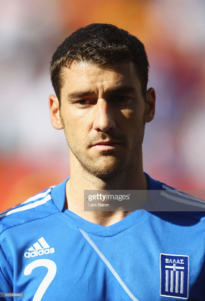 Giourkas Seitaridis of Greece during the 2010 FIFA World Cup South Africa Group B match between South Korea and Greece at Nelson Mandela Bay Stadium...