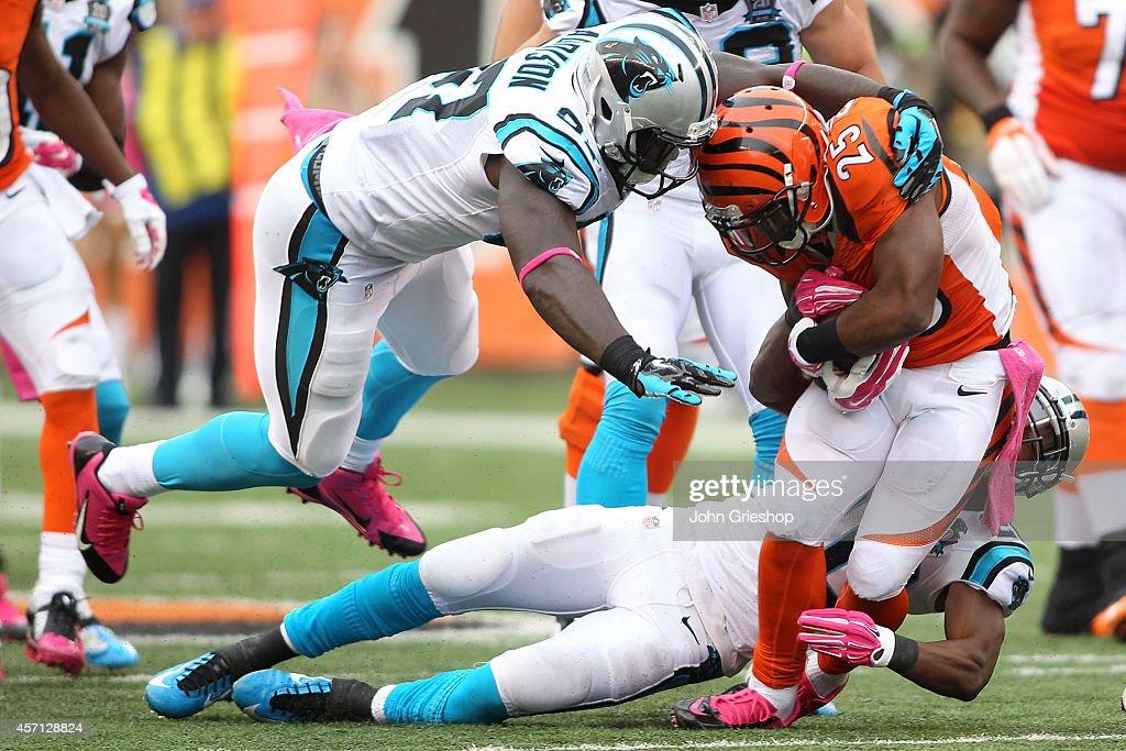 Wholesale NFL Jerseys cheap - Carolina Panthers v Cincinnati Bengals Photos and Images   Getty ...