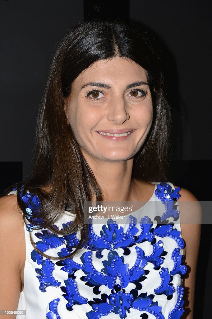 Giovanna Battaglia attends the celebration of CHANEL FINE JEWELRY'S 80th anniversary of the 'Bijoux De Diamants' collection created by Gabrielle Chanel on October 9, 2012 in New York City.