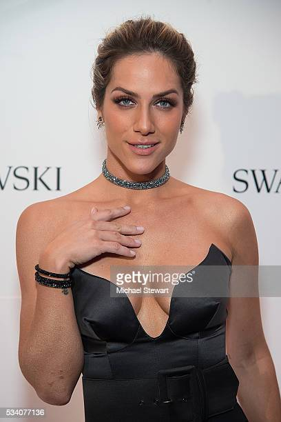 Giovanna Ewbank attends Swarovski #bebrilliant at The Weather Room at Top of the Rock on May 24 2016 in New York City