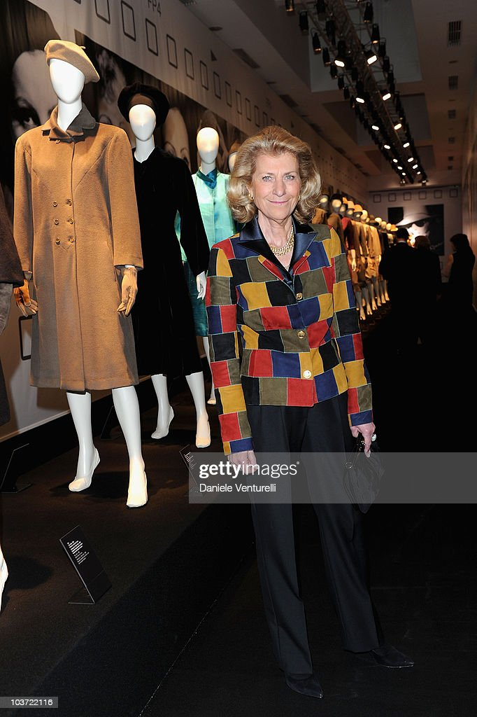 Giovanna Ferragamo attends the Salvatore Ferragamo 'Greta Garbo' exhibition at the Triennale Museum during Milan Fashion Week Womenswear A/W 2010 on February 27, 2010 in Milan, Italy.