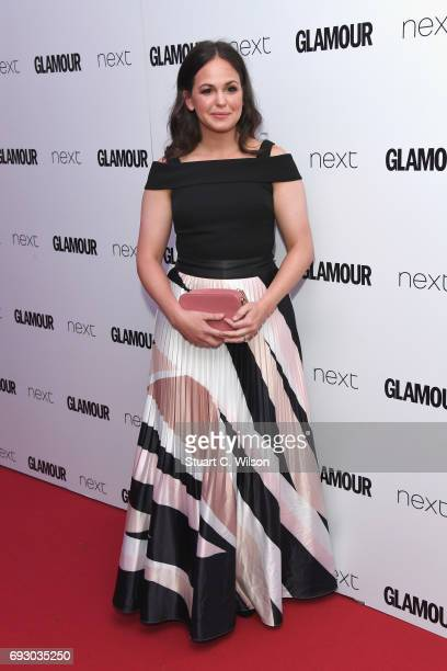 Giovanna Fletcher attends the Glamour Women of The Year awards 2017 at Berkeley Square Gardens on June 6 2017 in London England
