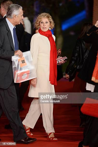 Giovanna Melandri attends the Opening Ceremony and 'L'Ultima Ruota Del Carro' Premiere during The 8th Rome Film Festival on November 8 2013 in Rome...