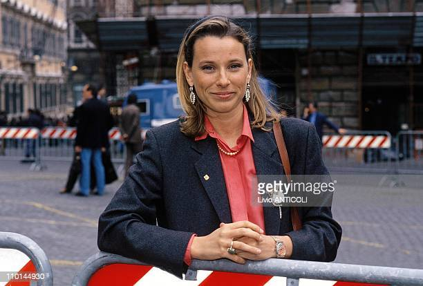 Giovanna Melandri minister of culture in Rome Italy on October 24 1998