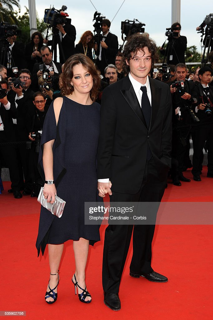 Giovanna Mezziogiorno at the Premiere for 'You will meet a tall dark stranger' during the 63rd Cannes International Film Festival.