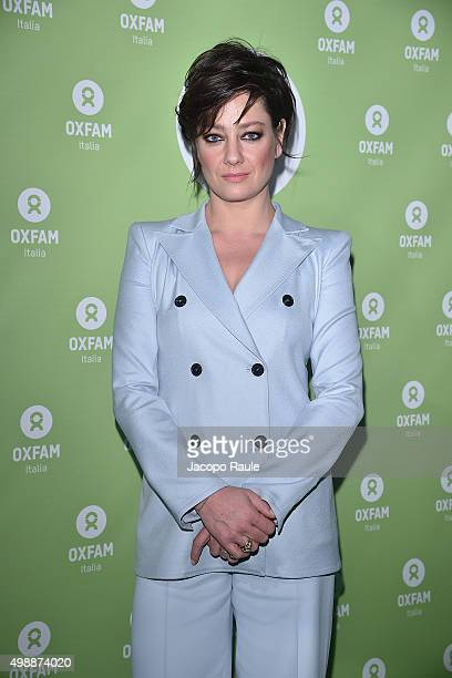 Giovanna Mezzogiorno attends a photocall for Women's Circle 2015 OXFAM Charity Benefit on November 26 2015 in Milan Italy