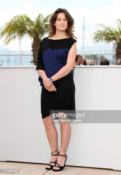 Giovanna Mezzogiorno attends the Jury Photocall at the Palais des Festivals during the 63rd Annual Cannes International Film Festival on May 12 2010...