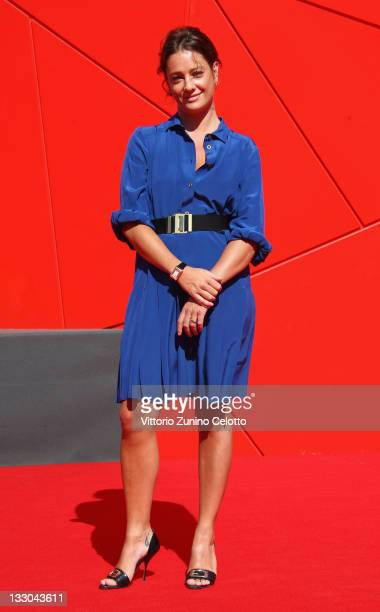 Giovanna Mezzogiorno attends the 'Negli Occhi' premiere at the Sala Grande during the 66th Venice Film Festival on September 6 2009 in Venice Italy