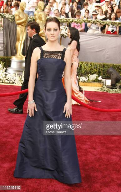 Giovanna Mezzogiorno during The 78th Annual Academy Awards Arrivals at Kodak Theatre in Hollywood California United States