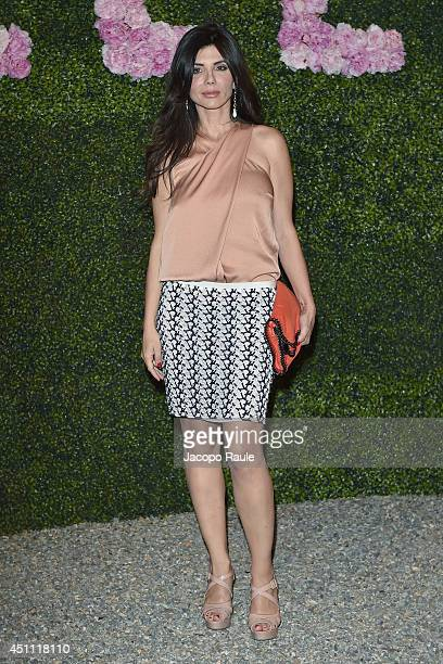 Giovanna Rei attends the Stella McCartney Garden Party during the Milan Fashion Week Menswear Spring/Summer 2015 on June 23 2014 in Milan Italy