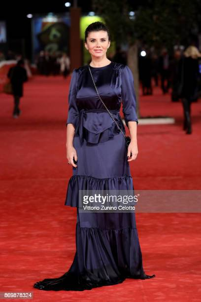 Giovanna Rei walks a red carpet for 'Borg McEnroe' during the 12th Rome Film Fest at Auditorium Parco Della Musica on November 3 2017 in Rome Italy