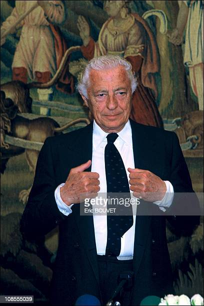 Giovanni Agnelli in Paris France on May 06th 1987