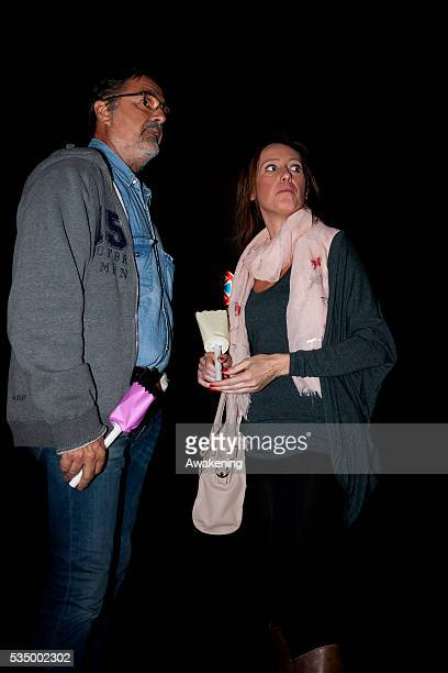 Giovanni and Ilaria Cucchi take part in a vigil in Rome to remember son and brother Stefano Cucchi and his death while in police custody in 2009 and...