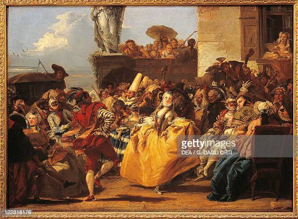 Giovanni Domenico Tiepolo Carnival of Venice