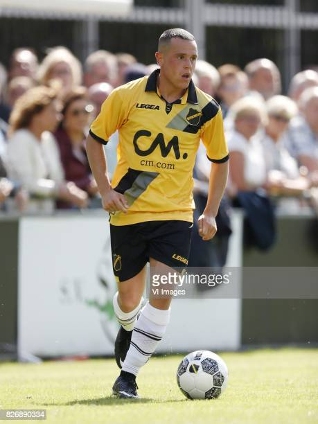 Giovanni Korte of NAC Breda during the friendly match between NAC Breda and Almere City FC at Sportpark Ruitersboslaan on August 05 2017 in Breda The...