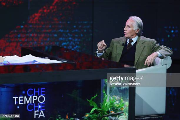 Giovanni Malago attends'Che Tempo Che Fa' Tv Show at Rai Milan Studios on November 19 2017 in Milan Italy