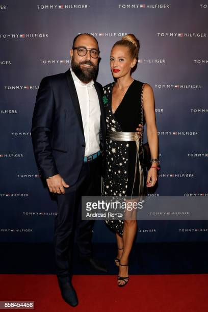 Giovanni Marchese and Christa Rigozzi Marchese attend the Tommy Hilfiger VIP Dinner in celebration of the 13th Zurich Film Festival on October 6 2017...