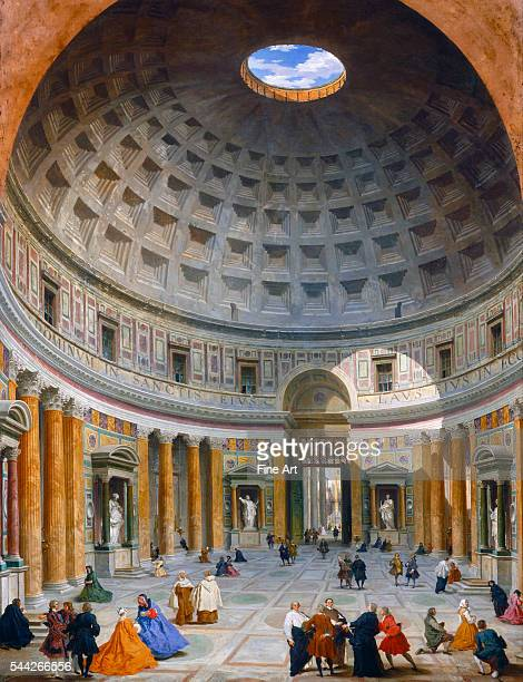 Giovanni Paolo Panini Interior of the Pantheon Rome c 1734 oil on canvas 128 x 99 cm National Gallery Washington DC