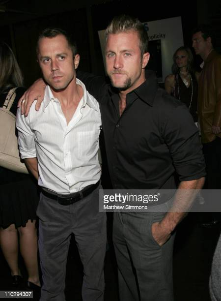Giovanni Ribisi and Scott Caan during 31st Annual Toronto International Film Festival 'The Last Kiss' Party at Premiere Film and Music Lounge at W...
