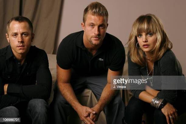Giovanni Ribisi Scott Caan and Mena Suvari during 31st Annual Toronto International Film Festival 'The Dog Problem' Portraits at Portrait Studio in...