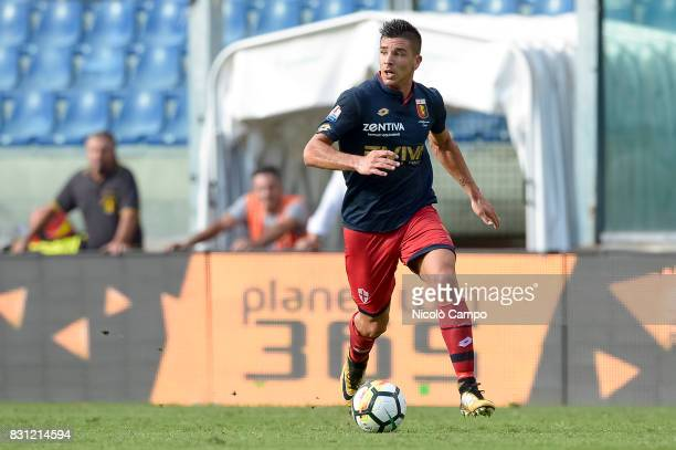 Giovanni Simeone of Genoa CFC in action during the TIM Cup football match between Genoa CFC and AC Cesena Genoa CFC wins 21 over AC Cesena