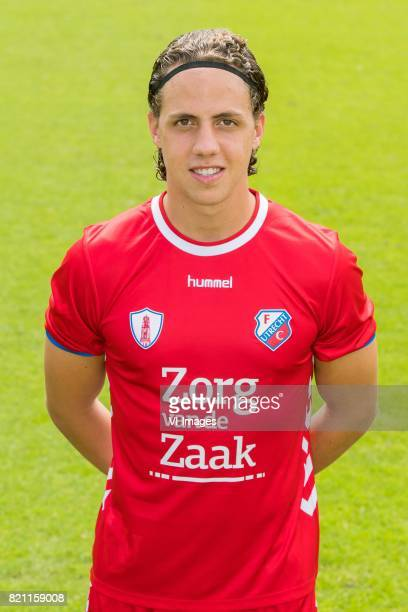 Giovanni Troupee during the team presentation of FC Utrecht on July 22 2017 at Sportcomplex Zoudenbalch in Utrecht The Netherlands