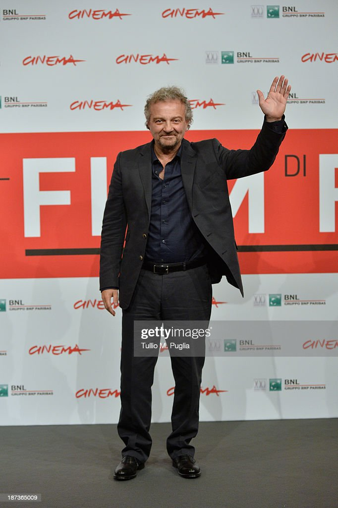 Giovanni Veronesi attends the 'L'Ultima Ruota Del Carro' Photocall during the 8th Rome Film Festival at the Auditorium Parco Della Musica on November 8, 2013 in Rome, Italy.