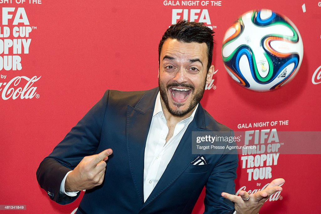 Giovanni Zarella attends the Gala Night of the FIFA World Cup Trophy Tour on March 29, 2014 in Berlin, Germany.