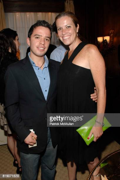 Giovanny Olarte and Kiki Nolan attend POPE ANNALISA Book Release Party With Author PETER CANOVA at Private Residence on March 25 2010 in New York City