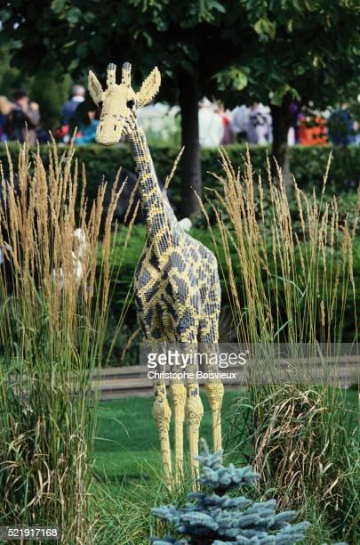 Giraffe Made of Legos at Legoland