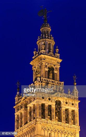 Giralda bell tower, Seville, Spain. : Foto de stock