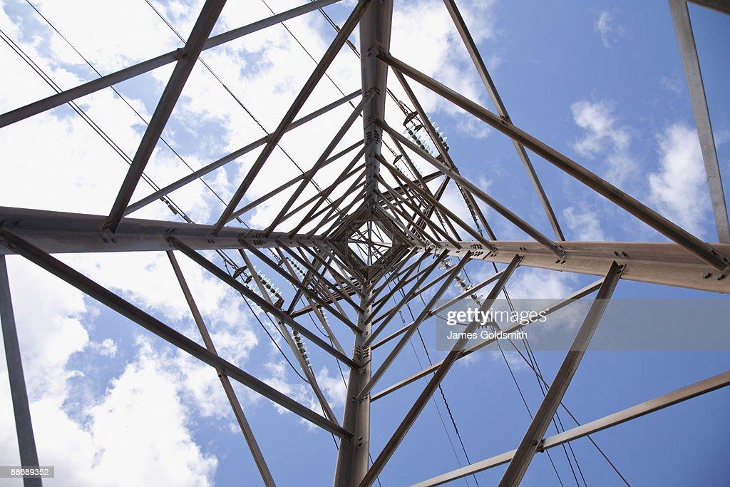 Girders on power tower