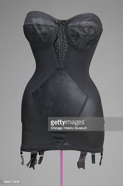 Girdle 1955 Silk satin elastic by Lily of France